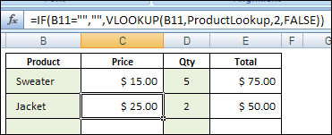 Excel Price List With VLOOKUP and MATCH Function – Contextures Blog