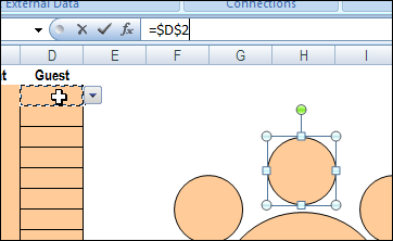 plan your party seating with excel contextures blog