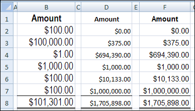 Trouble Aligning Excel Currency Symbols