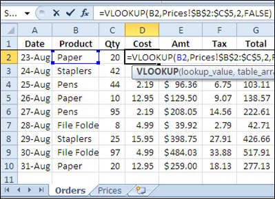 Excel VLOOKUP From Another Workbook – Contextures Blog