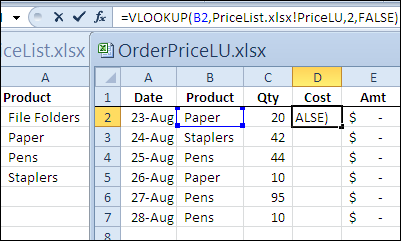 How to use vlookup from different worksheet