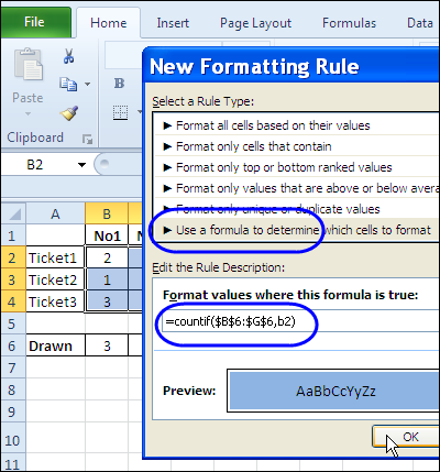 Excel Knows If You Won the Lottery – Contextures Blog