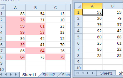 Conditional Formatting from Different Sheet
