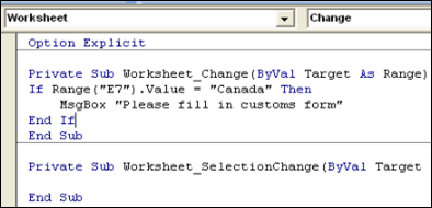 Excel VBA – Macro Runs When Worksheet Changed – Contextures Blog