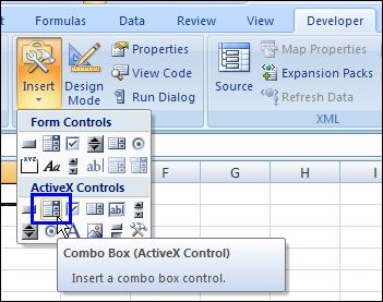 Combo Box Drop Down for Excel Worksheet – Contextures Blog