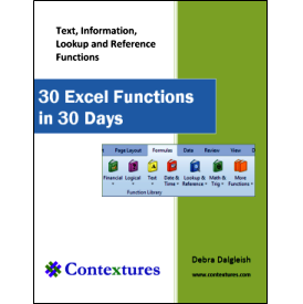 30 Excel Functions in 30 Days: Conclusion