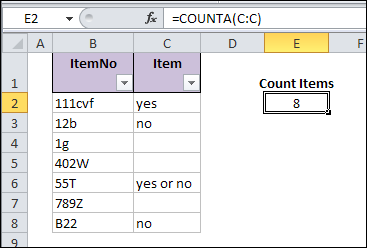 Fix Blank Excel Cells Copied From Database