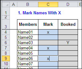 Set Up Golf Tee Times in Excel – Contextures Blog