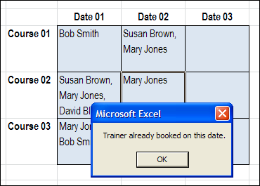 No Duplicates in Multiple Selection Excel Drop Down