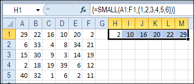 Sort Lottery Number Rows in Excel – Contextures Blog