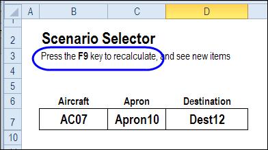 Create Random Scenarios in Excel