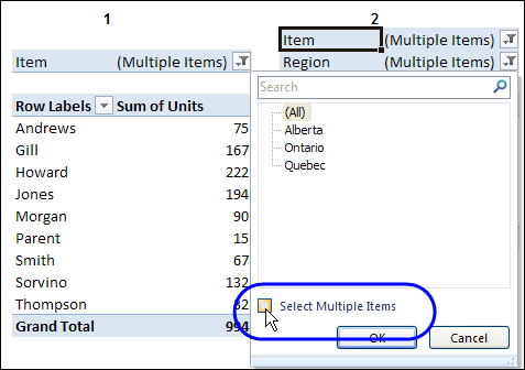 Change All Pivot Tables With One Selection – Contextures Blog