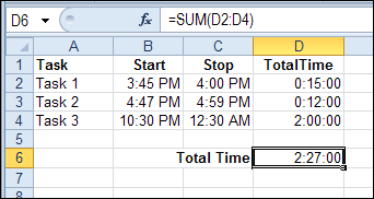 keep track of time in excel contextures blog