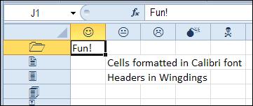 Change Font In Excel Column Headers Contextures Blog