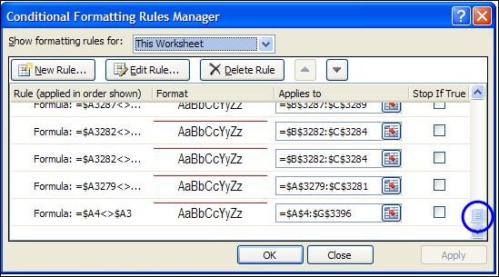 Excel 2010 Conditional Formatting Nightmare – Contextures Blog