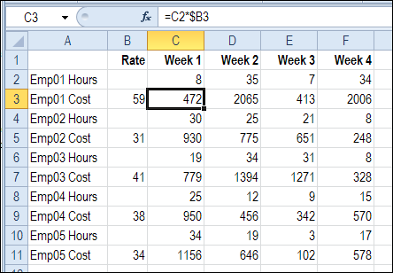 Sum Excel Rows Based on Text – Contextures Blog