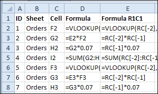 List All Formulas in Workbook – Contextures Blog