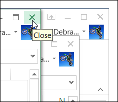 Close All Files in Excel