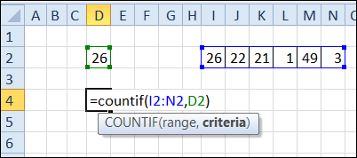 Check Winning Numbers with COUNTIF Function – Contextures Blog