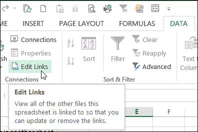 Problem Breaking Links in Excel – Contextures Blog