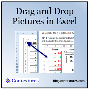 Dragging Pictures in Excel