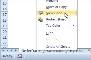 Modify Excel VBA Code in Sample Files – Contextures Blog