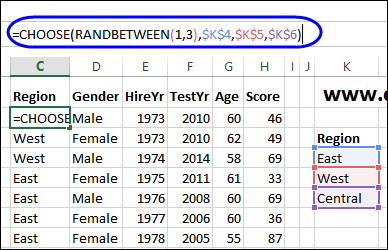 Create Random Text in Excel – Contextures Blog
