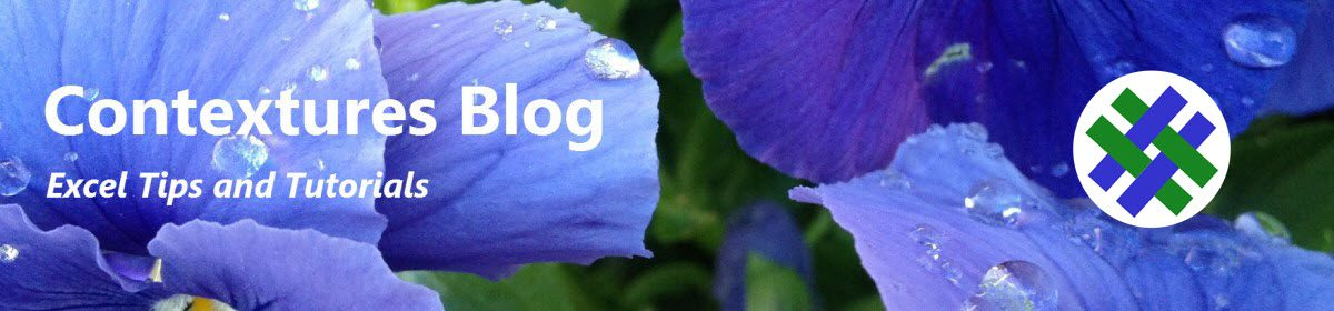 Contextures Blog