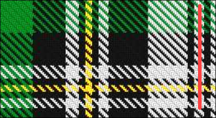 Create a Tartan Pattern in Excel – Contextures Blog