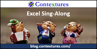 Excel Sing Along