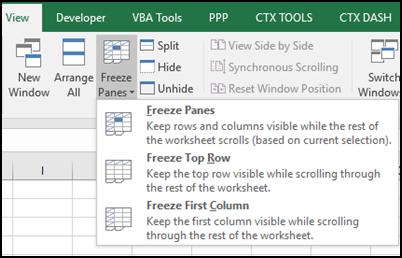 Freeze All Worksheets Macro – Contextures Blog