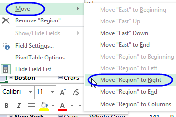 Move Pivot Fields Without Dragging – Contextures Blog