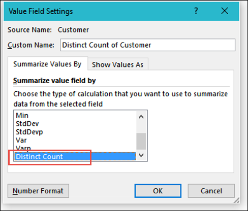 Count Unique in Excel Pivot Table – Contextures Blog