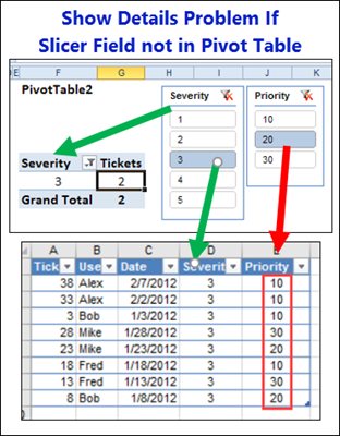 Pivot Table Show Details Sheets