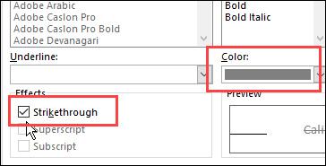 Cross Off Tasks in Excel To Do List – Contextures Blog