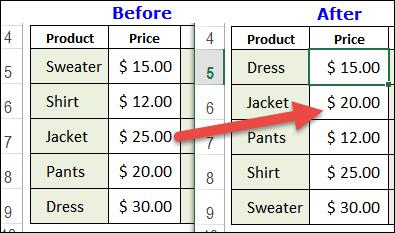 Excel VLOOKUP Sorting Problem – Contextures Blog