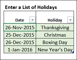 Customize Weekends With Excel WORKDAY Function – Contextures Blog