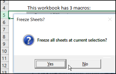Freeze All Worksheets Macro