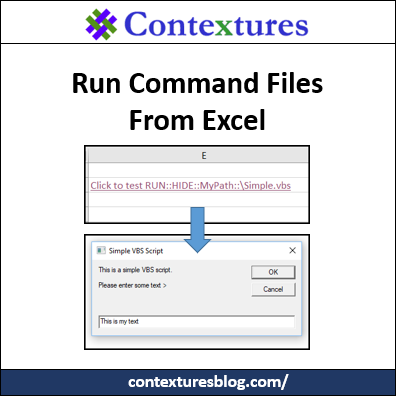 Run Command Files From Excel