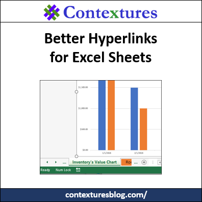 Better Hyperlinks for Excel Sheets