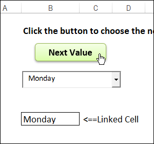 Excel ActiveX Combobox Item Select Macro