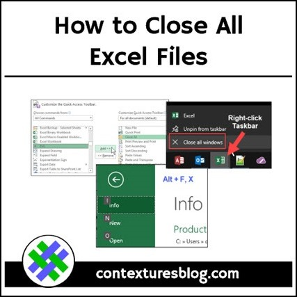 Close All Excel Files