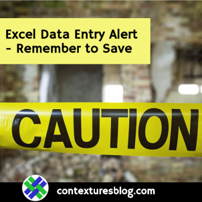 Worksheet Data Entry Form Alerts