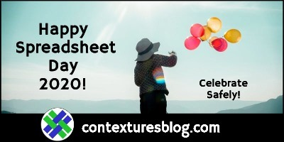 Happy Spreadsheet Day 2020