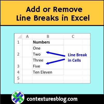 Quick Tip: Find and Replace Line Breaks in Cells