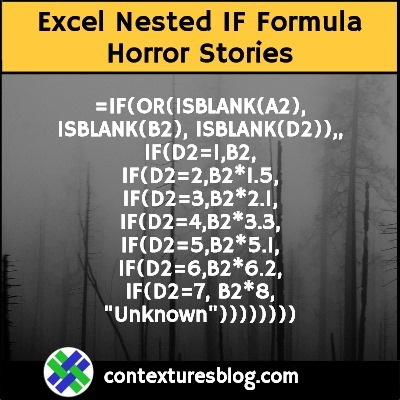 Excel Nested IF Formula Horror Stories
