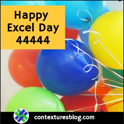 Happy Excel Day 44444